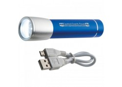 Powerbank lanterna 2200 mAh