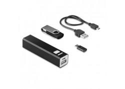 Set powerbank 2200 mAh si USB