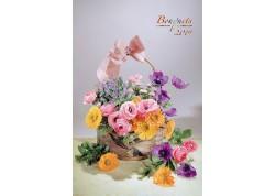 Calendar personalizat 2019 Bouquets