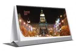 Calendar personalizat 2019 de birou Europe